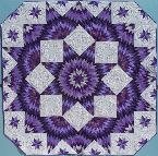 rookie of the year MQS unlimited possibilities july cover first place lancster county fair first place second place mahine quilting best purple best star quilt nebraska state fair